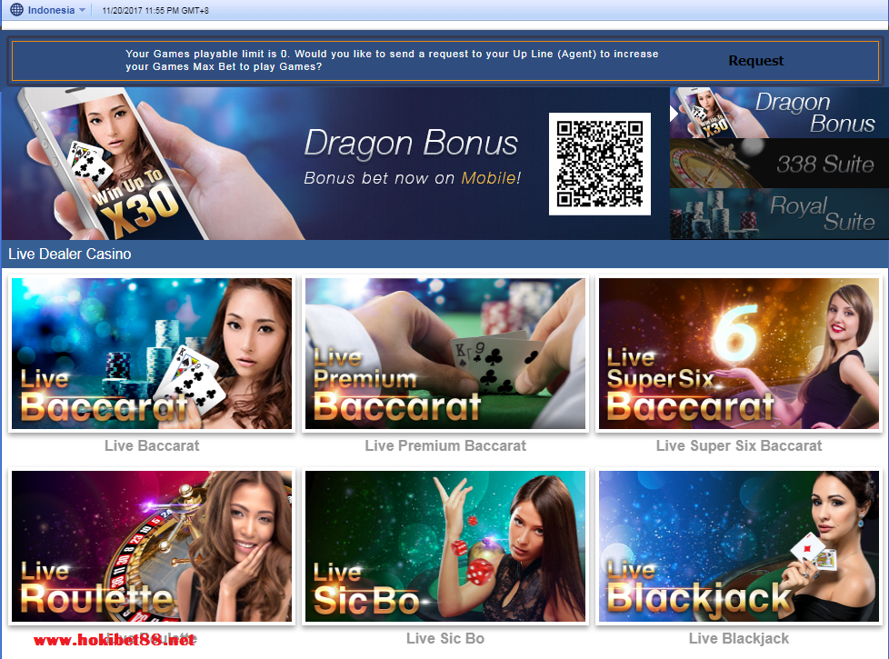 Klik Play Game Permainan Roulette Sbobet Casino