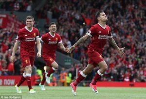 Liverpool Tumbangkan Maribor 3 Gol Di Liga Champions